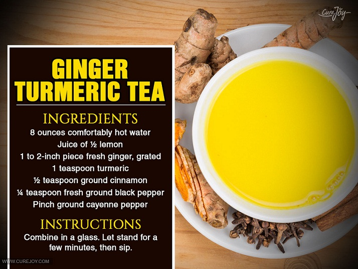 How to use ginger turmeric tea to cure post nasal drip and tonsil stones