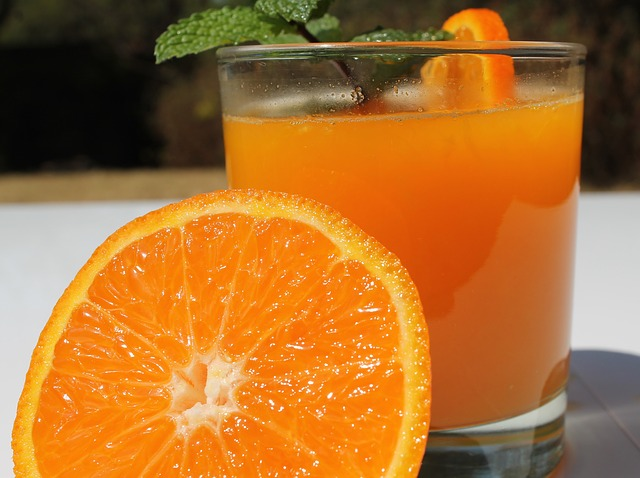 orange juice for tonsil stones and sore throat