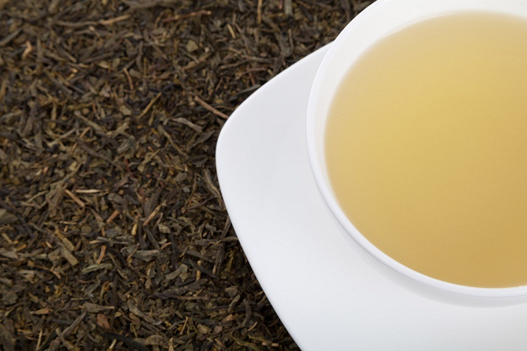Green tea for tonsil stones infection